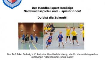 NACHWUCHSSPIELER GESUCHT!!!
